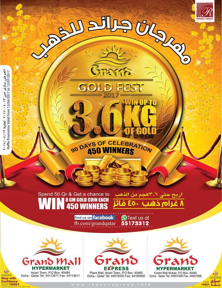 grandmall gold fest sale