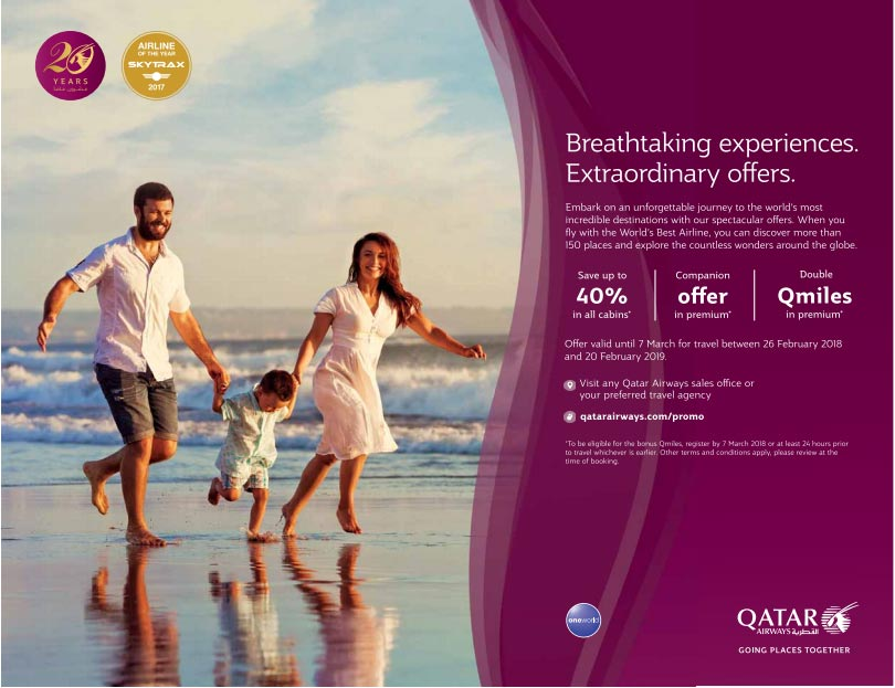 qatar airways extraordinary offers