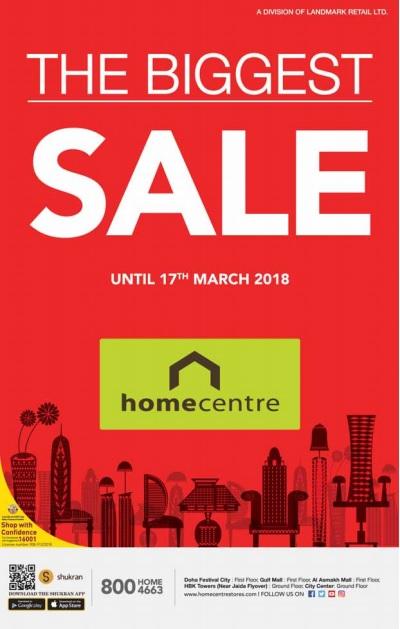 home centre qatar sale