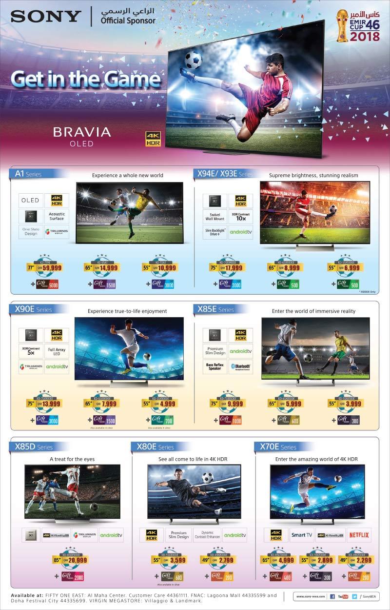 sony bravia tv offers qatar