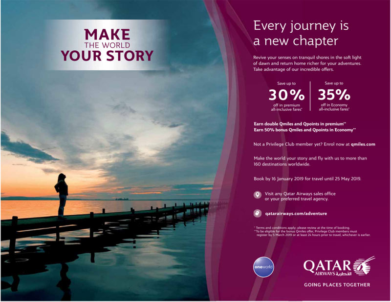 qatar airways flight offers