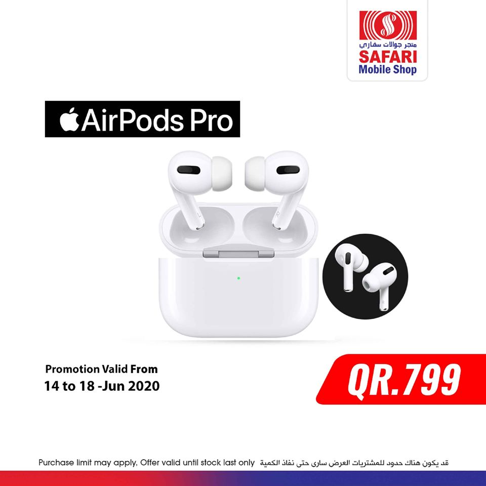 apple airpods safari mall qatar