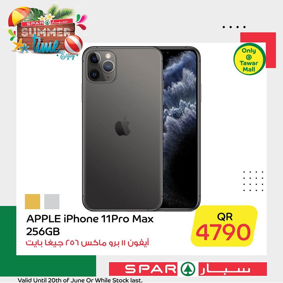 iphone 11 pro max 256gb price qatar