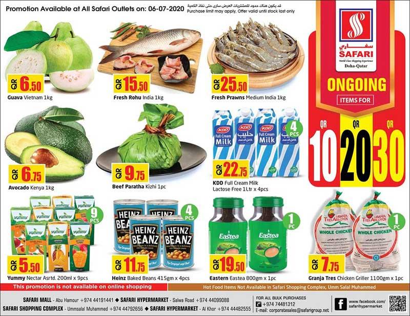 fresh fish and fruits price qatar