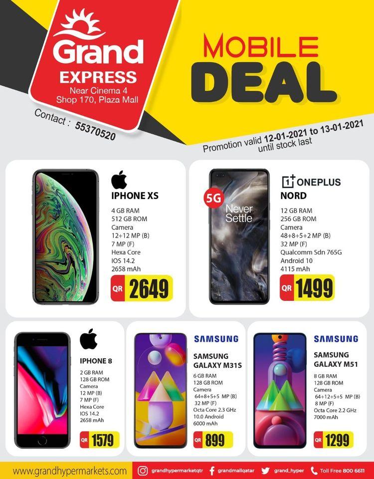 iphone xs, iphone 8, oneplus nord qatar price